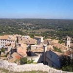 Ventabren, Provence: The whole point of Provence in the south of France is to laze away inordinate amounts of time lunching - exceedingly well. Enter Ventabren, a drop-dead gorgeous Provencal hilltop village just 14km from tourist-rammed Aix-en-Provence. After roaming empty golden-stone lanes and chateau ruins, there is only one place to lunch al fresco with a sweeping view: La Table de Ventabren. www.latabledeventabren.com Photo: Allie Caulfield