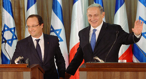 Hollande vows to take strong line on Iran