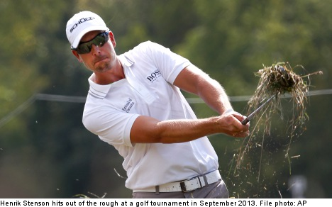 Stenson on course to be Europe's top golfer