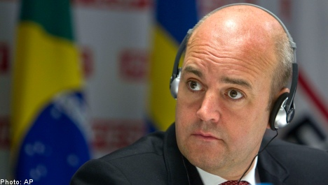 Reinfeldt among Swedes hacked in Adobe attack