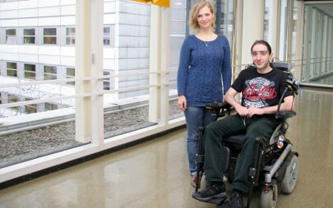 German wheelchairs can be steered by ears