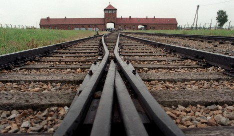 Nazi camp photos on display in Warsaw