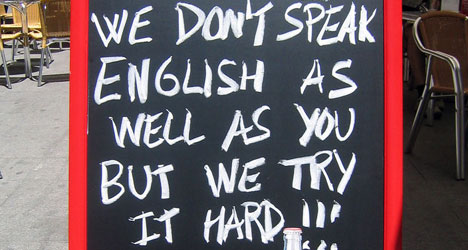 Catalans must pass English to get a degree