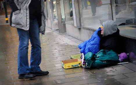 Sweden Democrats: Ban begging by foreigners