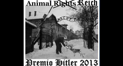 Italian union hands out 'Hitler animal prize'