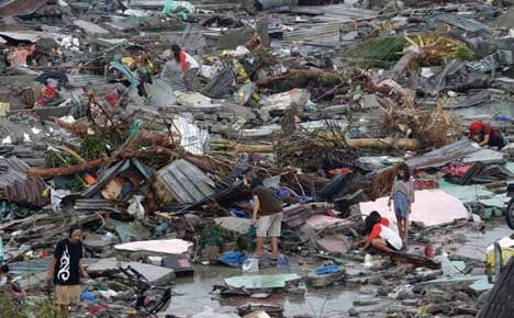 Swedes feared missing after Philippines typhoon