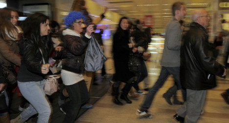 US-style Black Friday retail chaos hits Spain