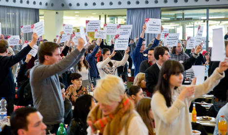 Revolting youth wings slam coalition pact