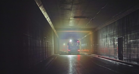 Drunk arrested for driving in closed tunnel