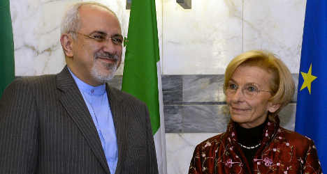 Italy's foreign minister announces Iran visit