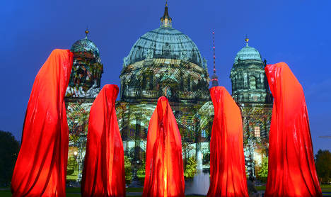 Record number of tourists head to Berlin