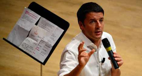 Renzi calls for two-year benefits for jobless