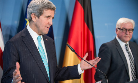 Kerry in Berlin: 'US is committed to privacy'
