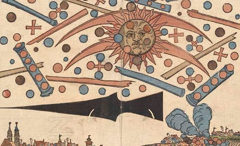 'Fakes' and woodcuts – Germany's top UFOs