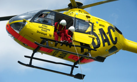ADAC chiefs used rescue helicopters for trips