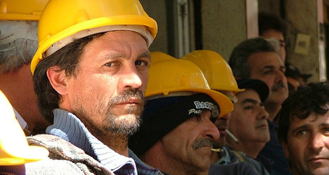 'Spaniards are taking our jobs': French builders