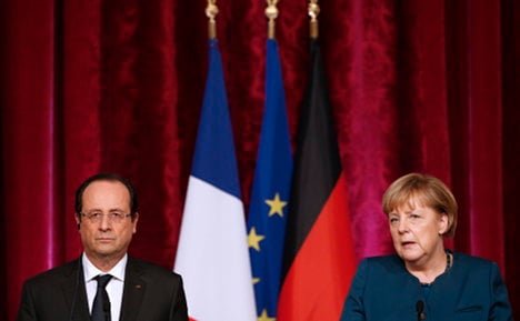 Germany welcomes Hollande's new tone