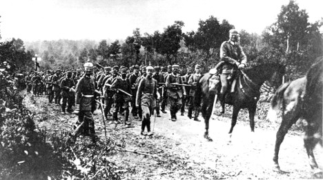 Germany yet to plan official WWI events