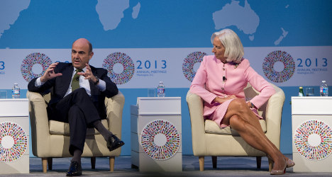 'Spain's record wage cuts not enough': IMF