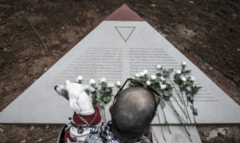Israel unveils tribute to gay victims of Nazis
