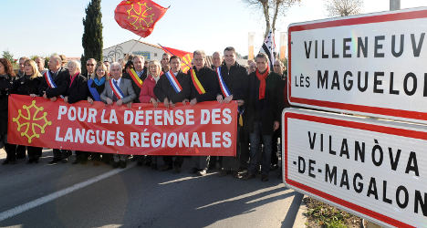 Hypocrisy? France and its regional languages