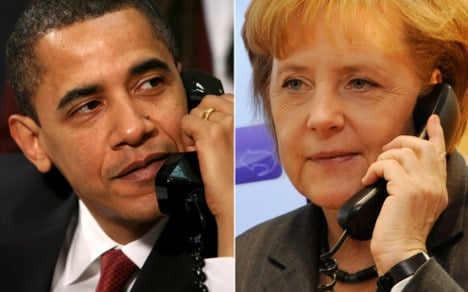 Obama to Merkel: 'Get well and come to USA'