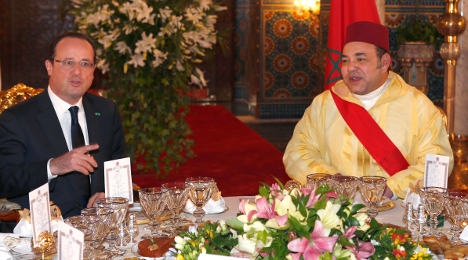Hollande calls Morocco's king to calm 'torture' row