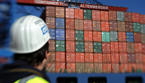 German firms hit 2.5-year confidence high