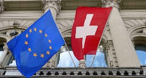 Swiss strongly support other deals with EU: poll