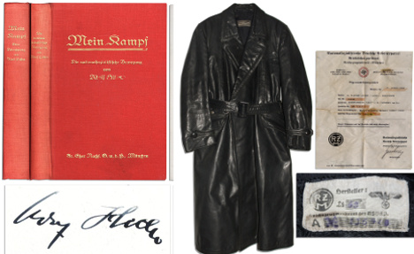 Hitler's 'Mein Kampf' copies sell for €47,000
