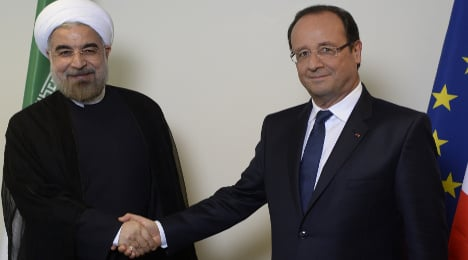 Iran is not open for business, US tells France