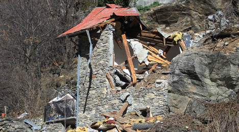 Alps: Two children killed as boulder hits chalet