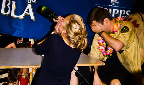 Young Brits party harder than Stockholmers: study