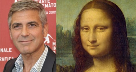 Clooney calls for Mona Lisa's return to Italy