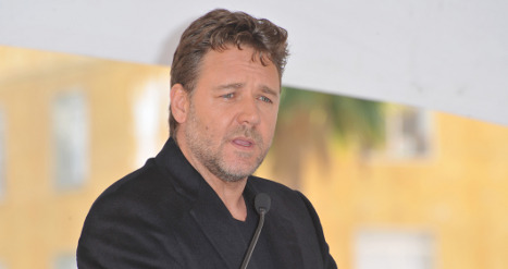 Russell Crowe attends papal audience