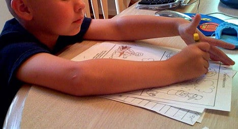 Dad fined for hitting son who didn't do homework