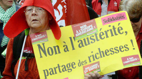 French government's austerity denial 'a joke'