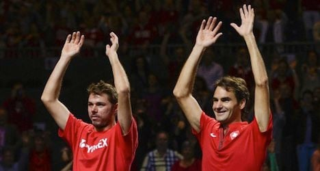 Swiss head to Davis Cup semis after comeback