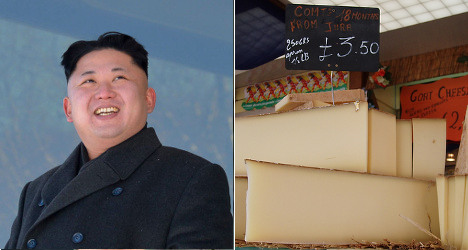 North Koreans snubbed by French cheese college