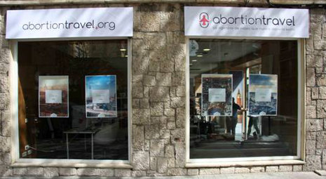 Abortion Travel agency: 'We should never exist'