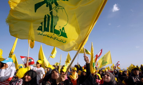 Germany outlaws 'Hezbollah fundraisers'