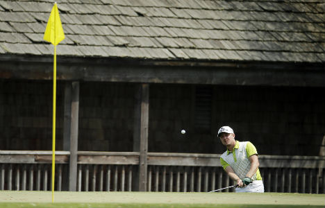 Swede Blixt stuns on Masters debut