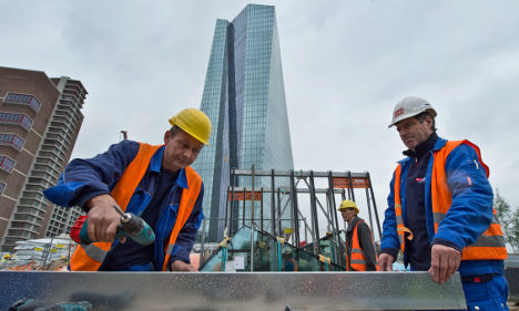 German hourly labour costs outstrip EU rivals