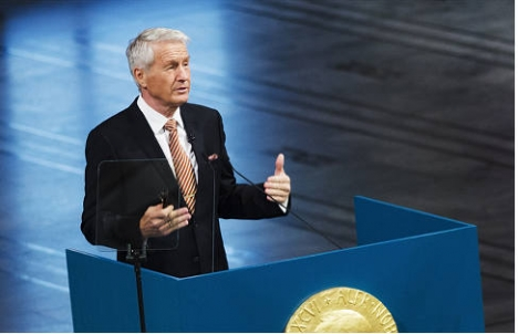 Labour wants to keep Jagland as Nobel chair