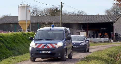 French farms suffer as thieves pilfer stock