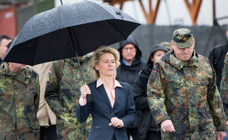 Germans want smaller role in world crises