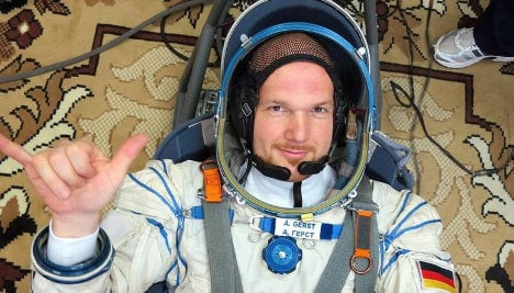 Astronaut takes part of cathedral to space