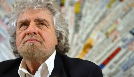 Italy's Grillo makes Nazi jibe against Schulz