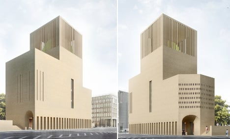 Berlin plans one home for three religions