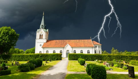 Storms steal Swedish summer's thunder
